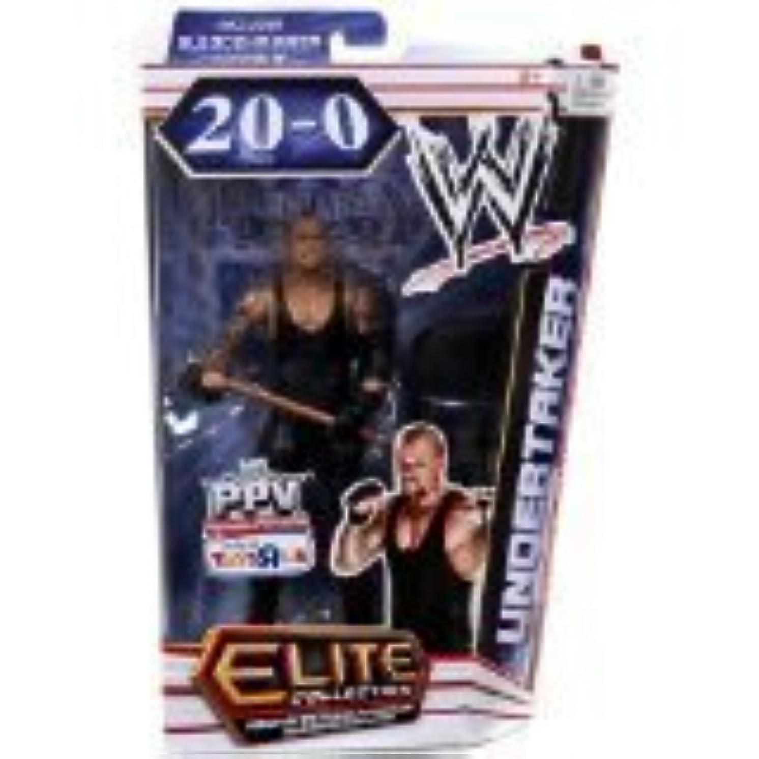 Sponsei Mattel WWE Wrestling Elite Exclusive 20-0 Action Figure Undertaker