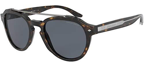 GIORGIO ARMANI Occhiali da sole AR8129 502687 occhiali Uomo colore Havana lente grigio taglia 52 mm