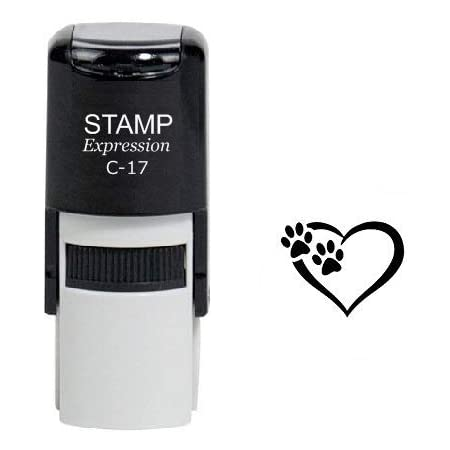 Address stamp \u00abIGEL\u00bb with personal address and motif-stamp wood stamp name small animal rodent rodent nature spines autumn