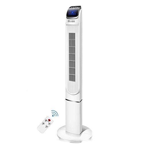 Apartamento de aire acondicionado, sin ventilador de mangueras de escape / aire acondicionado, ventilador de torre oscilante con control remoto y temporizador, 3 alejas de aire de gran angular de velo