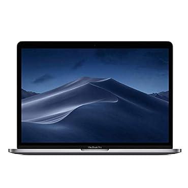 Apple MUHP2LL/A MacBook Pro (13, 8GB RAM, 256GB Storage) Space Gray, Mid 2019