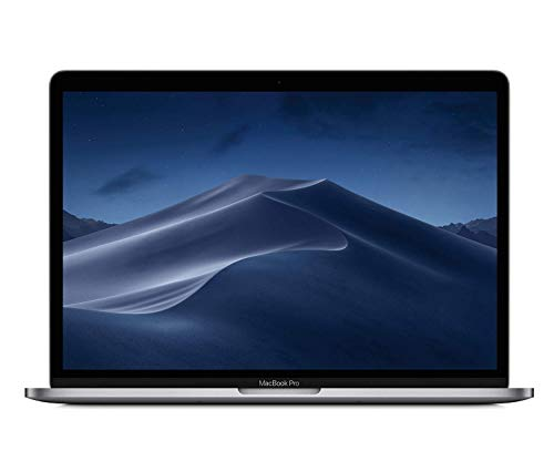 Apple 13 Inch MacBook Pro Laptop (Retina, Touch Bar, 2.7GHz Quad-Core Intel Core i7, 8GB RAM, 512GB SSD Storage) Space Gray