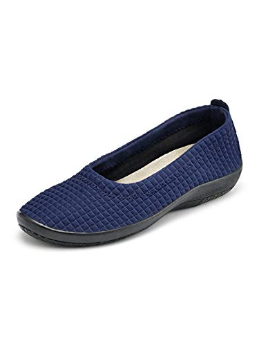 Avena Damen Hallux-Soft-Slipper Blau Gr. 42