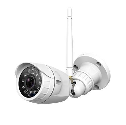 GIAOGIAO Überwachungskamera im Freien, 1080p WiFi Home Überwachung wasserdichte Kamera (mit Nachtsicht, Bewegungserkennung, Fernzugriffe)