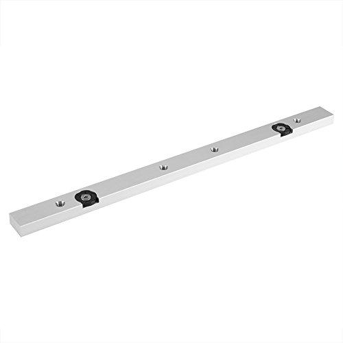 450/300 Lega Alluminio Mitra Bar Tabella dei Cursori Saw Gauge Rod Strumento per Lavorazione Legno Cursore Ferroviario Accessori per Seghe Banco (300mm / 11.81'')