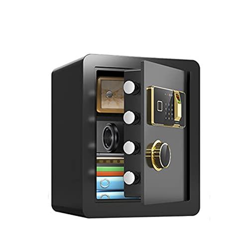 SKKQONG Cajas Fuertes, Cajas Fuertes ignífugas para el hogar, Cerradura mecánica + Llave de Acero de Seguridad, gabinetes de Seguridad Grandes