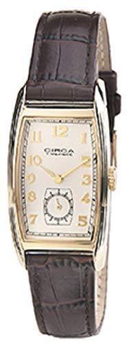 Circa 1937 Tonneau Watch - Goldton