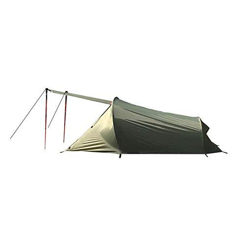 Brownrolly Doppeltes Campingzelt im Freien, ultraleichtes Aluminiumstangen-schweres regensicheres und atmungsaktives Campingzelt mit Aufbewahrungstasche
