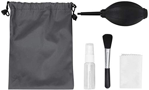 Zuoao Camera Cleaning Kit 5PCS Professional Cleaning Set Digital Camera PC Laptop Keyboard Dust Cleaner Tools for Digital Cameras, Computer, Keyboard, TV, LCD Screen, Teleand More.