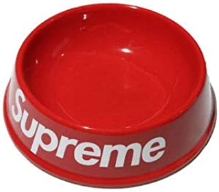 hypedstuff Supreme Plastic Dog and cat Bowl Hypebeast Dog and cat
