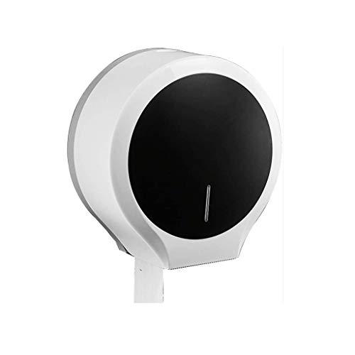 JYDQM Papel higiénico Titular de Papel higiénico dispensador de Papel, Estante montado en la Pared del sostenedor del Tejido del Inodoro (Color : A)