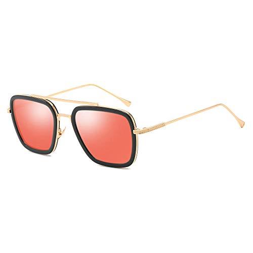Gafas de sol gafas caja de tendencia Gafas de sol europeas y...
