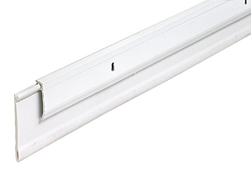 M-D Building Products 5769 M-D 0 Heavy Duty Door Sweep, 1/4 in W X 36 in L X 2 in H, White, Pack of 5
