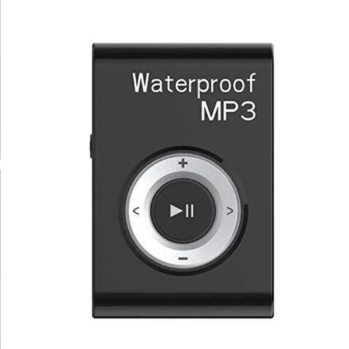 ZJH Reproductor de MP3 a Prueba de Agua, IPX8 Auriculares a Prueba de Agua para Nadar, 8GB de Memoria, para SPA y Otros Deportes acuáticos,C