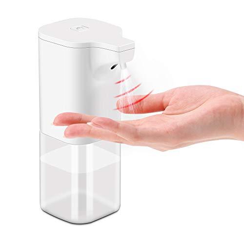 DUFU Dispensador Automático de Japon Líquido Sin Contacto Dispensador Automático de Alcohol con Sensor 350 ml, Rociador de líquido sin Contacto para Baño,Cocina,Oficina,Hotel