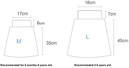 Teekit Comfy Childrens Diaper Skirt Pantaloncini impermeabili e assorbenti