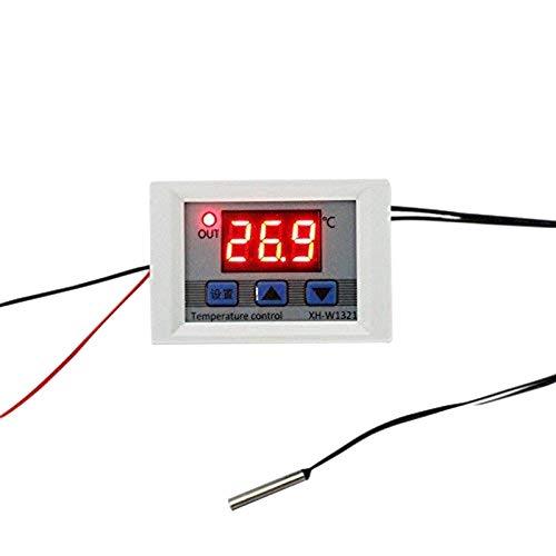Moligh doll Digitales Temperaturregler-Schaltmodul 12V -50 110 Bis 110 Celsius Mikrodigitale Thermostatplatine mit 1M Wasserdichter Sensorsonde