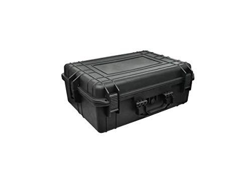 Ausla - Valigetta di protezione per attrezzature, valigetta per piccoli attrezzi con blocchi di schiuma, dimensioni 57 x 43 x 22 cm
