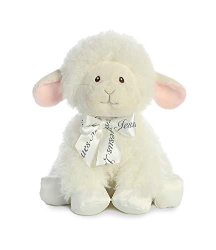 Aurora Baby Blessings Wind Up Musical Plush, Lamb