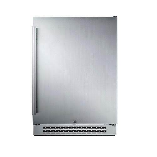 Avallon AFR241SSRH 5.5 Cu Ft Built-In 24' Refrigerator - Right Hinge