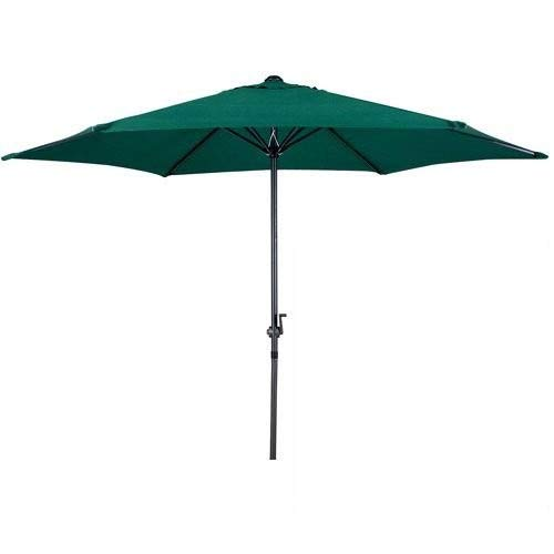 Photo of Gardensity Parasol 2.7m Steel Metal Powder Coated Garden Furniture Parasol With Winding Crank & Tilt Function (Green)