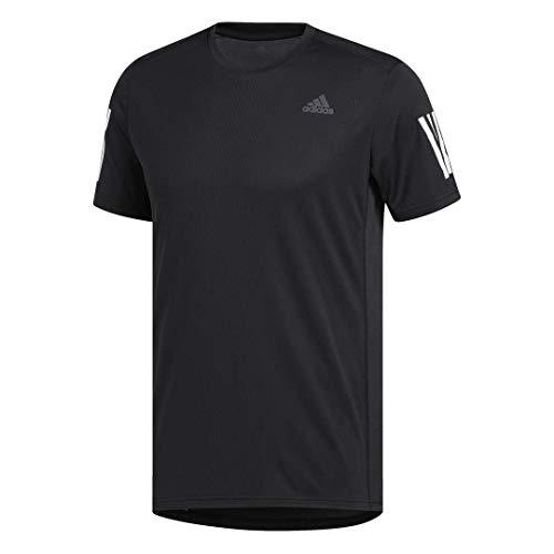 Camiseta masculina Adidas Own The Run, Black/White, Medium