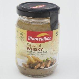 Montealbor, Salsa Al Whisky, Saus met Whisky, 180 g