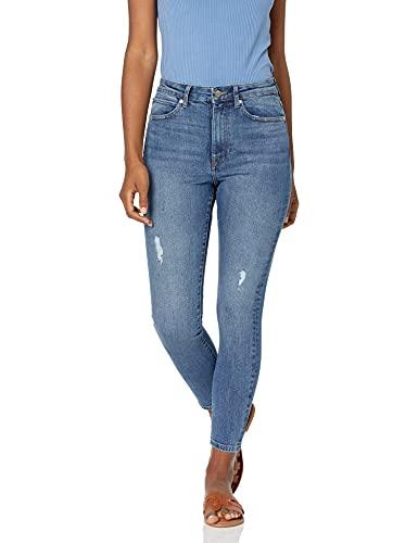 The Drop Fairfax - Pantalones de equitación para Mujer, Weekender Blue Vintage Wash, 26