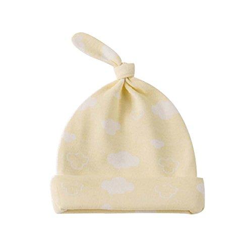 Pure Cotton Confortable Ventiler Belle Enfants Chap / Kid Hat (Jaune)