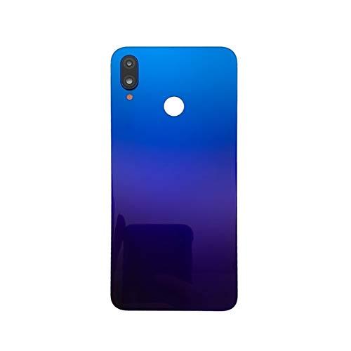 RKRLJX Carcasa de telefono Original Fit For Huawei NOVA3 PAR-AL00 Atrás Batería De La Batería Cubierta Trasera Funda Trasera Cubierta Vidrio Reparación De Vidrio Parte (Color : Primrose Gold)