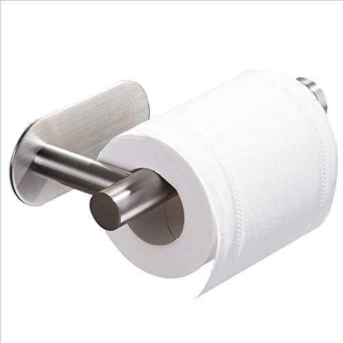 DGWHYC Toilet Paper Holder, 3M Toilet Paper Holder no Drilling for Bathroom and Washroom, SUS304...