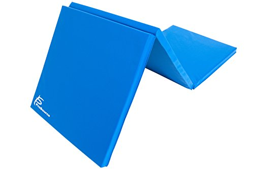 ProSource Tri-Fold Folding Exercise, Blue