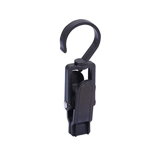 LCK 100 unids 360 Grados Pinzas Colgantes de plástico Cortina Hook Clip Pegs a Prueba de Viento Toalla de Playa Topes de Toalla móvil Movible Percha
