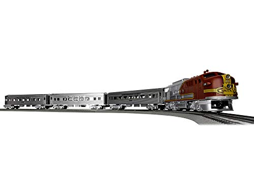 Lionel Santa Fe Super Chief Electric O Gauge Model Train Set w/ Remote and Bluetooth Capability