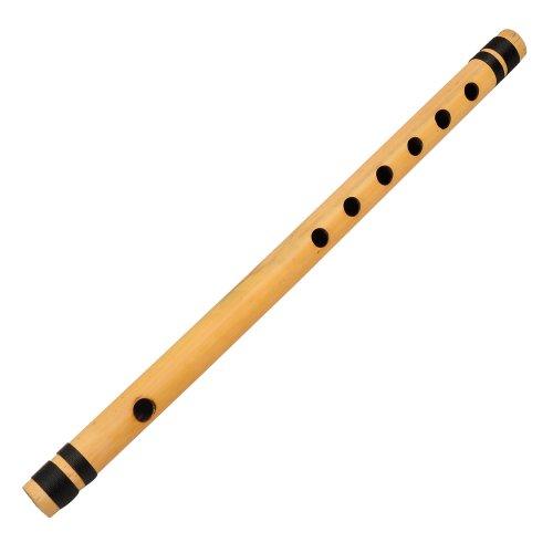 Shalinindia Flûte de Bambou Bansurî Indien Instrument de Musique Type transversales