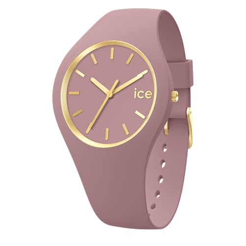 Ice-Watch - ICE glam brushed Fall rose - Reloj rosa para Mujer con Correa de silicona - 019529 (Medium)
