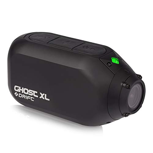 Drift Ghost XL Action Camera - Ideal for Action Vlogs: Longest Battery Life on the Market - 9 Hours- in HD 1080p, Waterproof, 330 Degree Rotating Lens