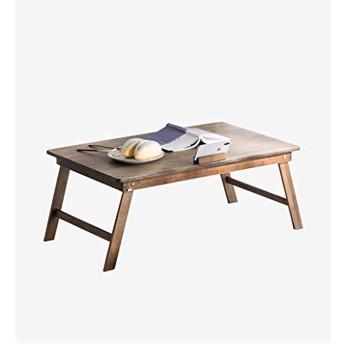 Mesa Ordenador Portatil Bambú Lap Desk cama Escritorio for el ordenador portátil, la bandeja portátil for la cama, escritorio de la computadora portátil, escritorio Escritorio del Regazo ( Color : A )
