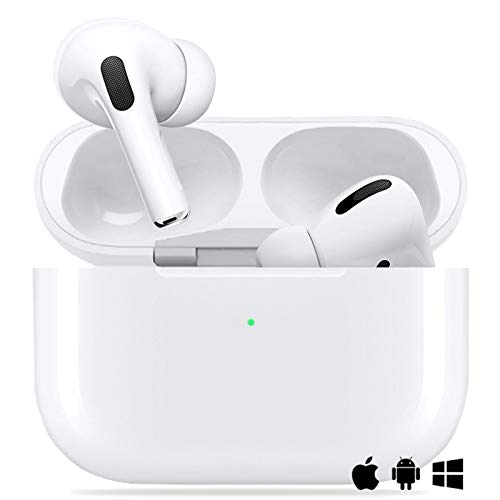Cuffie Bluetooth Auricolare Bluetooth 5.0 Auricolari Wireless Cuffie Sportive IPX5 Impermeabili Cuffie Stereo 3D, Cuffie In-Ear con Mic e Scatola di Ricarica,Per Apple AirPods Pro/Android/iPhone