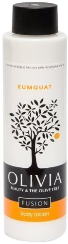 Olivia Olive Beauty :Emollient Body Lotion with Organic Olive Fruit & Kumquat extracts, from Greece, 10.1 oz. by Olivia Olive Beauty