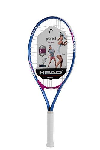 """HEAD Instinct Kids Tennis Racquet - Beginners Pre-Strung Head Light Balance Jr Racket - 25"""""""