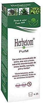 Herbetom PM 250ml - Jarabe Sistema Respiratorio