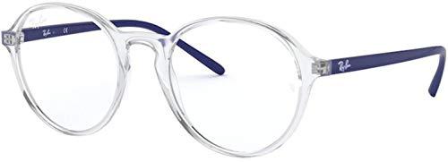 Ray-Ban Rx7173f - Monturas redondas para gafas graduadas para hombre