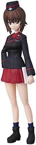 Medicom Girls Und Panzer: The Finale: Nishizumi Maho Ultra Detail Figure