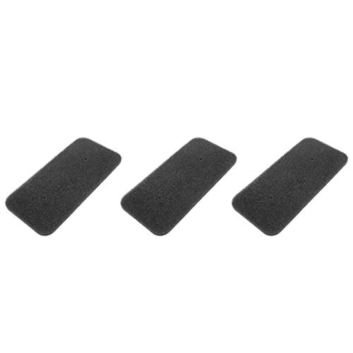 vhbw Set de filtros (3x filtro de esponja) compatible con Candy CS H10A2DE-S 31100933, CS H7A2DE-S 31100925 secadoras de ropa