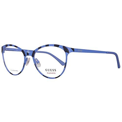 Guess Brille Gu3013 51083 Montature, Blu (Blau), 51.0 Unisex-Adulto