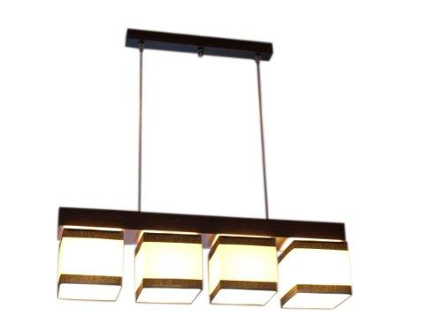 Plafonnier lustre suspension wero-vigo - 011–crème et marron à rayures