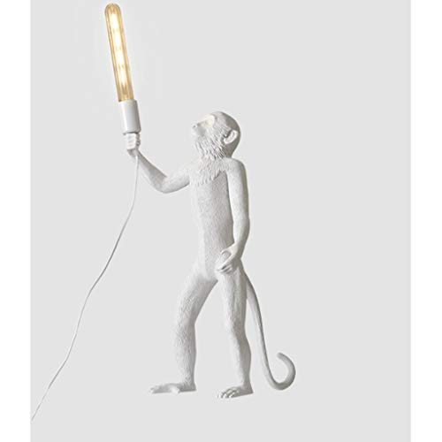 Floor lamp Monkey Animal Floor Lamp - Very Bright Reading, Industrial Wind Animal Elements,for Living Room,Bed Room,Office Lamp (Color : Standing)