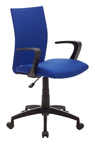 My_office Milano Poltrona da ufficio Blu, poliuretano, ergonomica
