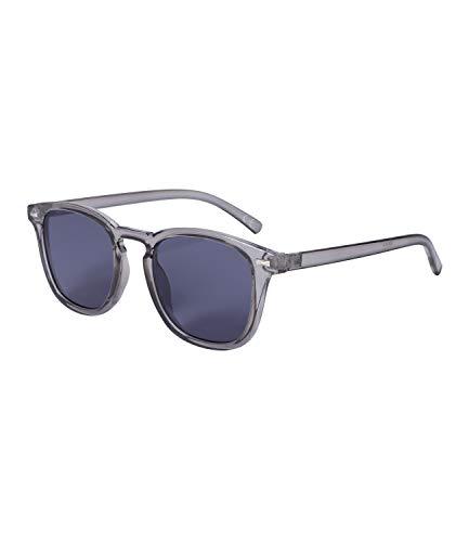 SIX Sonnenbrille für Damen, Square-Look, grau, dunkle Gläser, Linsen-Kategorie 3, UV400-Filter (326-210)